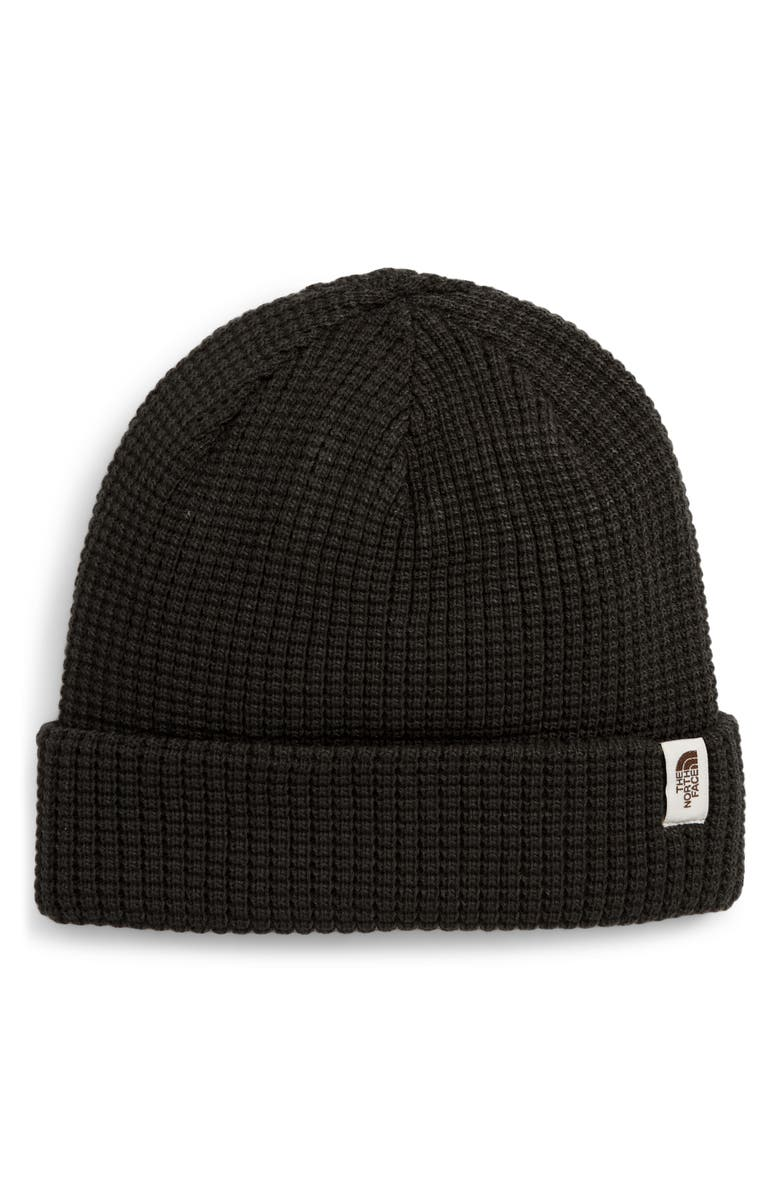 THE NORTH FACE Waffle Beanie, Main, color, 001