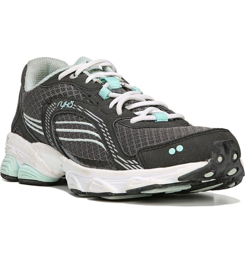 RYKA Ultimate Sneaker - Wide Width Available, Main, color, GREY/BLACK/MINT/SILV
