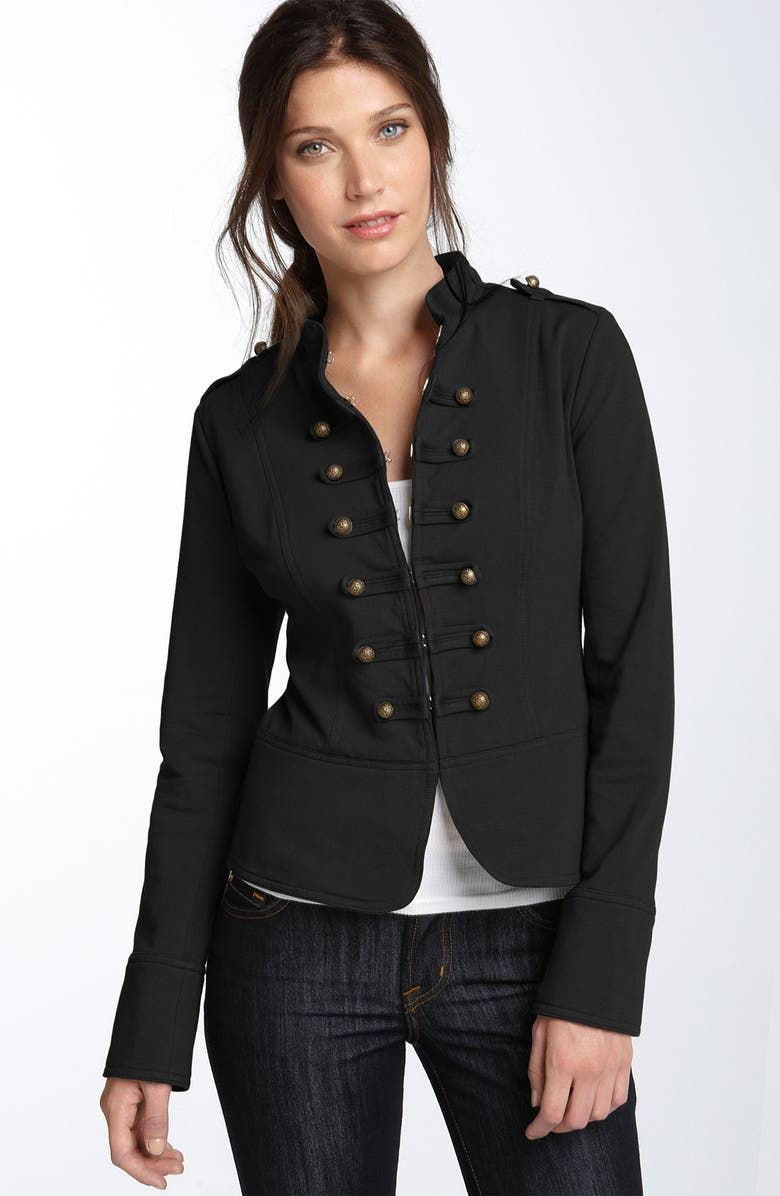 SWEET ROMEO Fleece Jacket, Main, color, 001