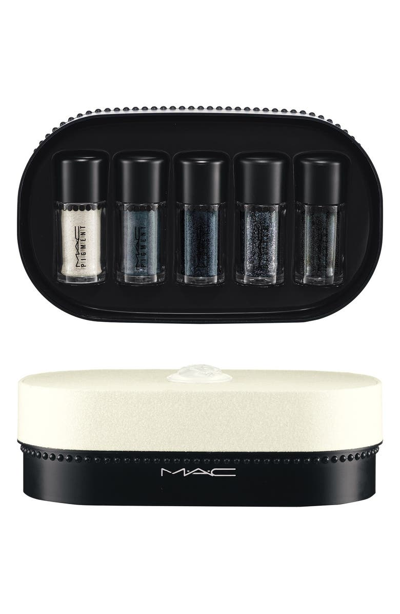 MAC COSMETICS M·A·C 'Objects of Affection - Gold & Beige' Pigments & Glitter Set, Main, color, 040
