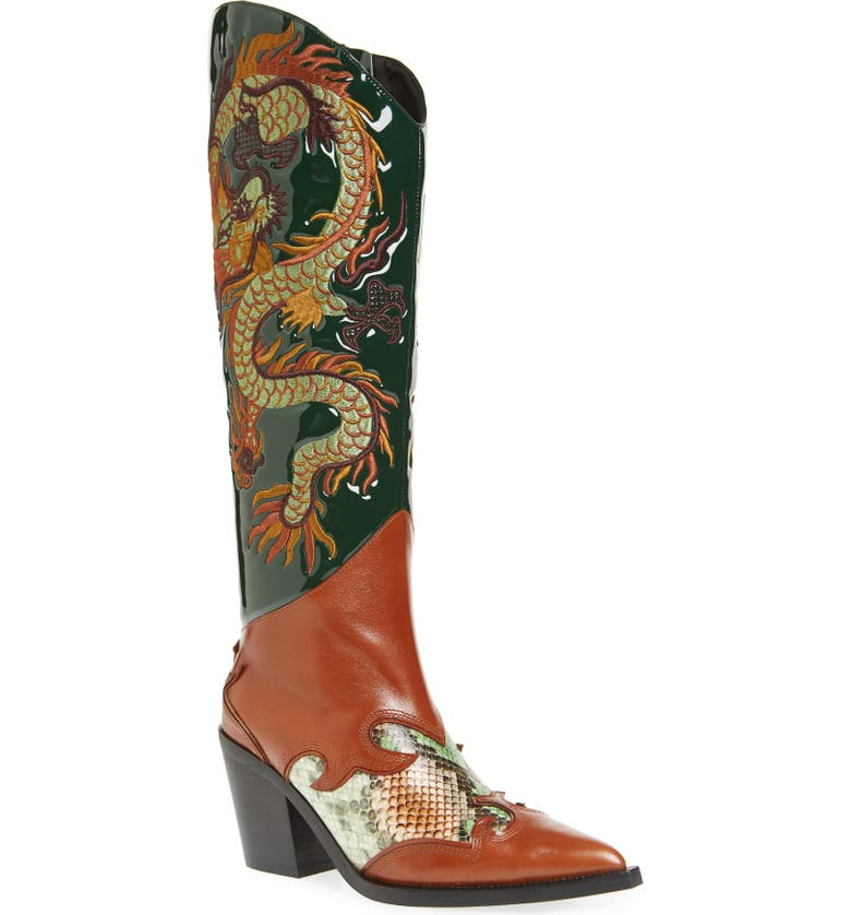 JEFFREY CAMPBELL Perfect Pairs Gaea Western Boot, Main, color, 216