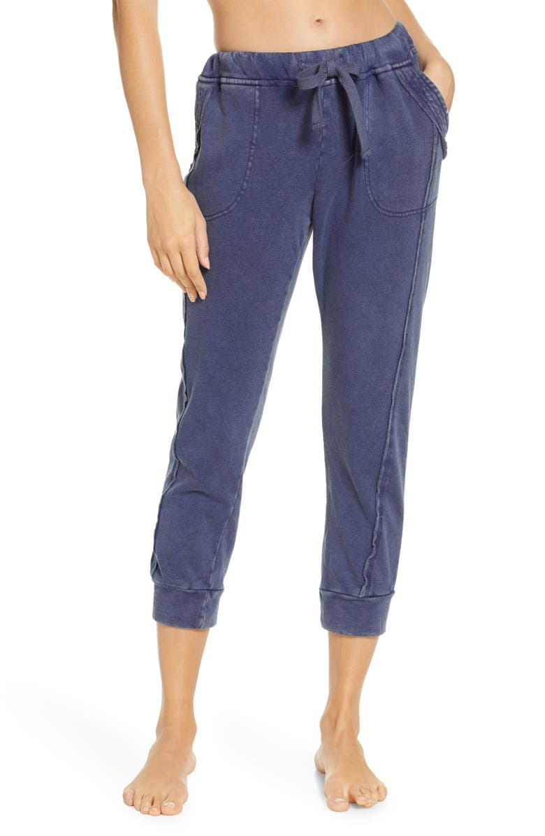 FREE PEOPLE FP MOVEMENT Work it Out Joggers, Main, color, INDIGO BLUE