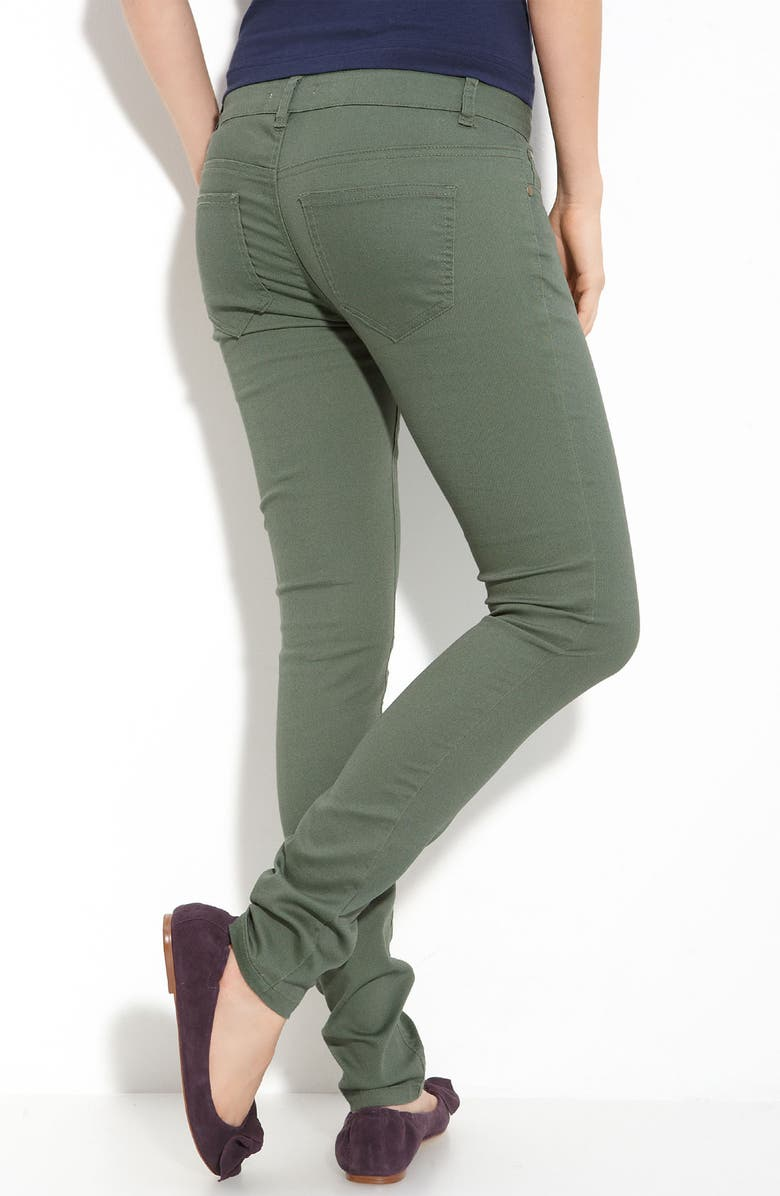 LOVE, FIRE Fire Skinny Jeans, Main, color, 300