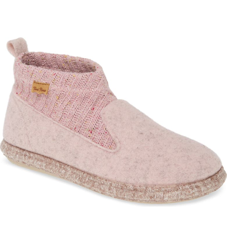 TONI PONS Mini Scuff Slipper, Main, color, ROSA WOOL