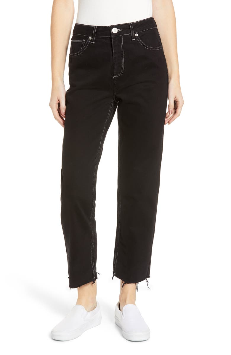 BDG URBAN OUTFITTERS Pax High Waist Jeans, Main, color, 001