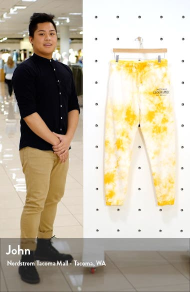 x National Geographic Tie Dye Joggers, sales video thumbnail