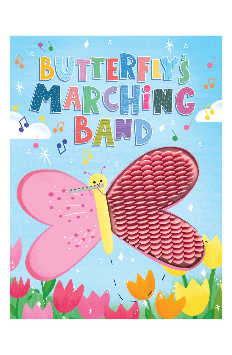 LITTLE HIPPO BOOKS Butterfly's Marching Band, Main, color, MULTI