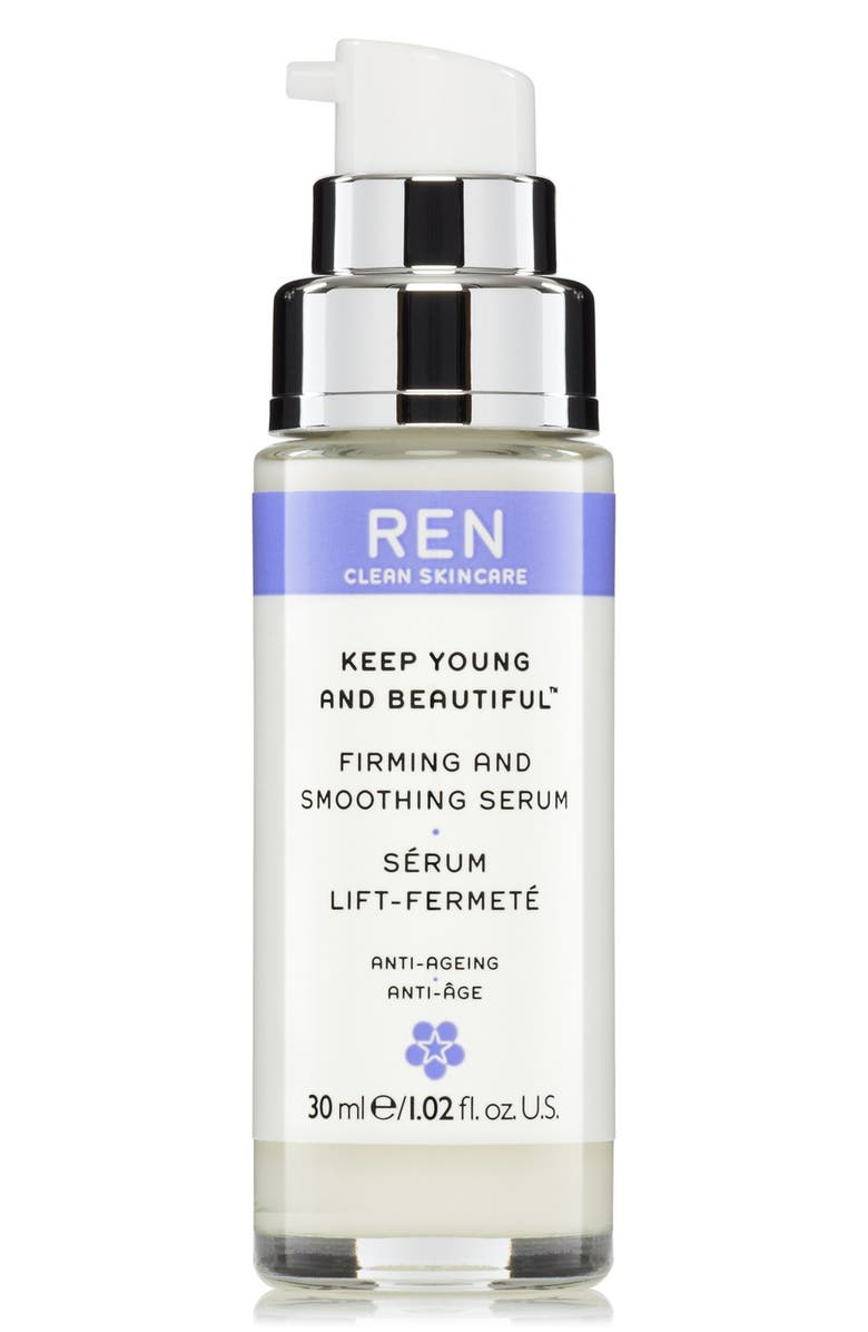 REN CLEAN SKINCARE Keep Young & Beautiful Instant Firming Beauty Shot Gel-Serum, Main, color, NO COLOR