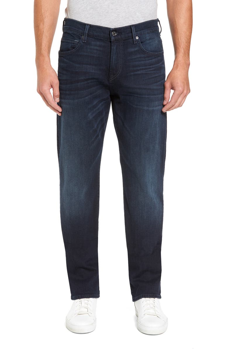 7 FOR ALL MANKIND<SUP>®</SUP> Carsen Luxe Performance Straight Leg Jeans, Main, color, 408