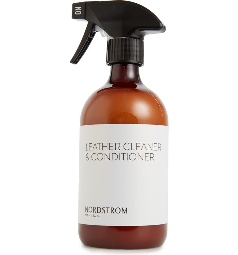 NORDSTROM Leather Cleaner & Conditioner Spray, Main, color, 100