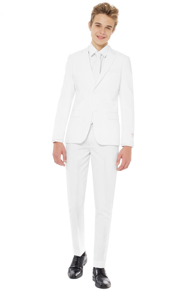 OPPOSUITS White Knight Two-Piece Suit with Tie, Main, color, White