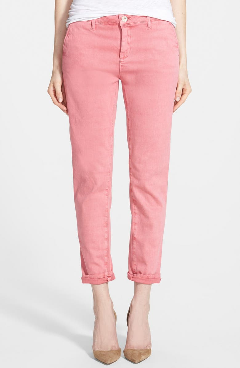 DL1961 'Iris' Relaxed Trousers, Main, color, 950