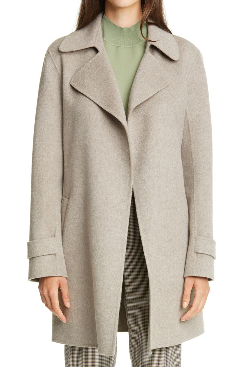 THEORY Oaklane Wool & Cashmere Trench Coat, Main, color, 020