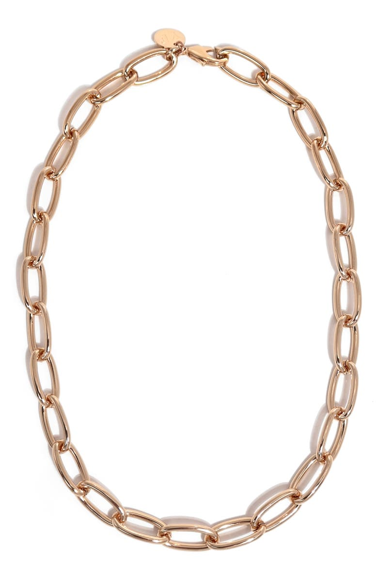YOUNG FRANKK Classic Chain Necklace, Main, color, GOLD