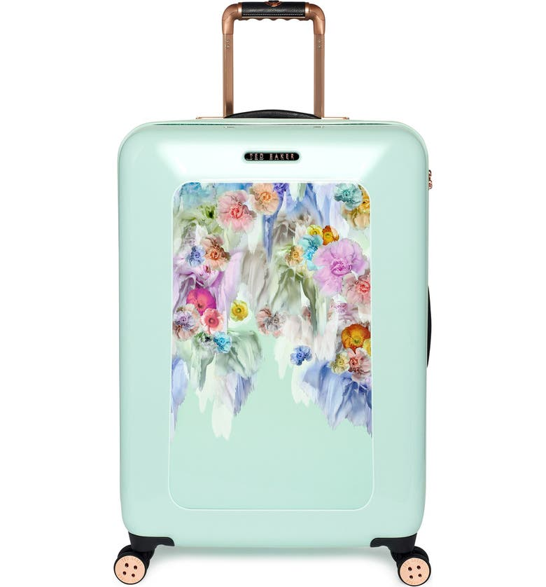 TED BAKER LONDON 'Medium Sugar Sweet Florals' Hard Shell Suitcase, Main, color, 440