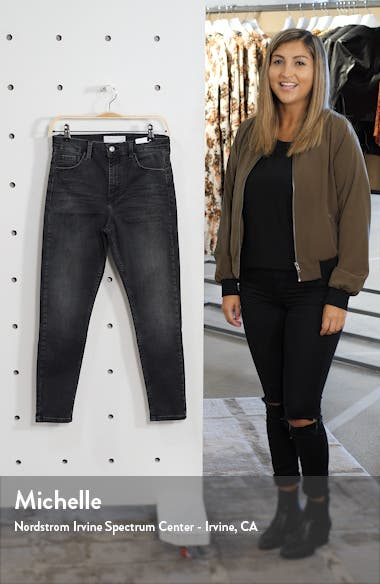 Jamie High Waist Skinny Washed Jeans, sales video thumbnail