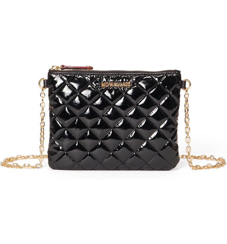 MZ WALLACE Ruby Quilted Crossbody Bag, Main, color, 001