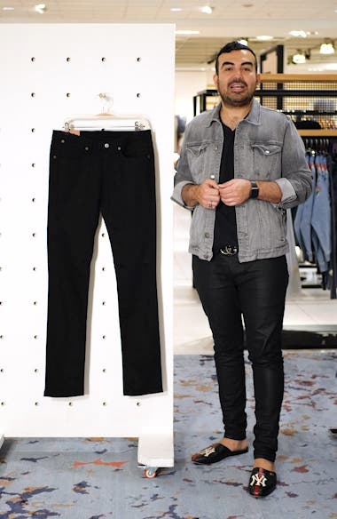 Max Stay Black Skinny Fit Jeans, sales video thumbnail