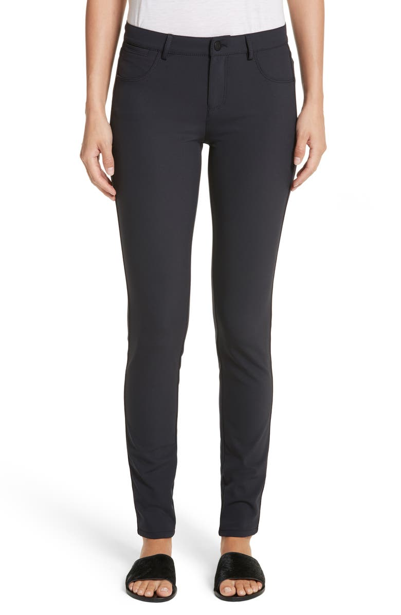 LAFAYETTE 148 NEW YORK Mercer Acclaimed Stretch Skinny Pants, Main, color, INK