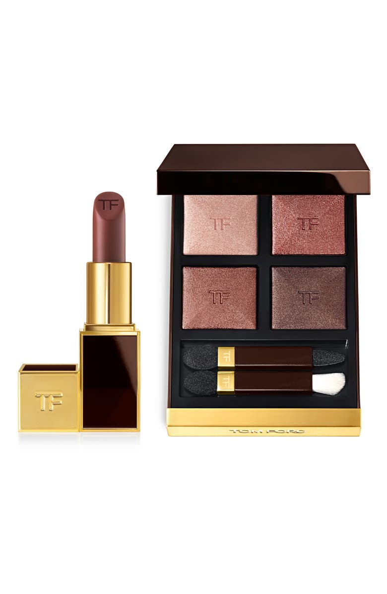 TOM FORD The Eye Color Quad & Lip Color Set, Main, color, 000