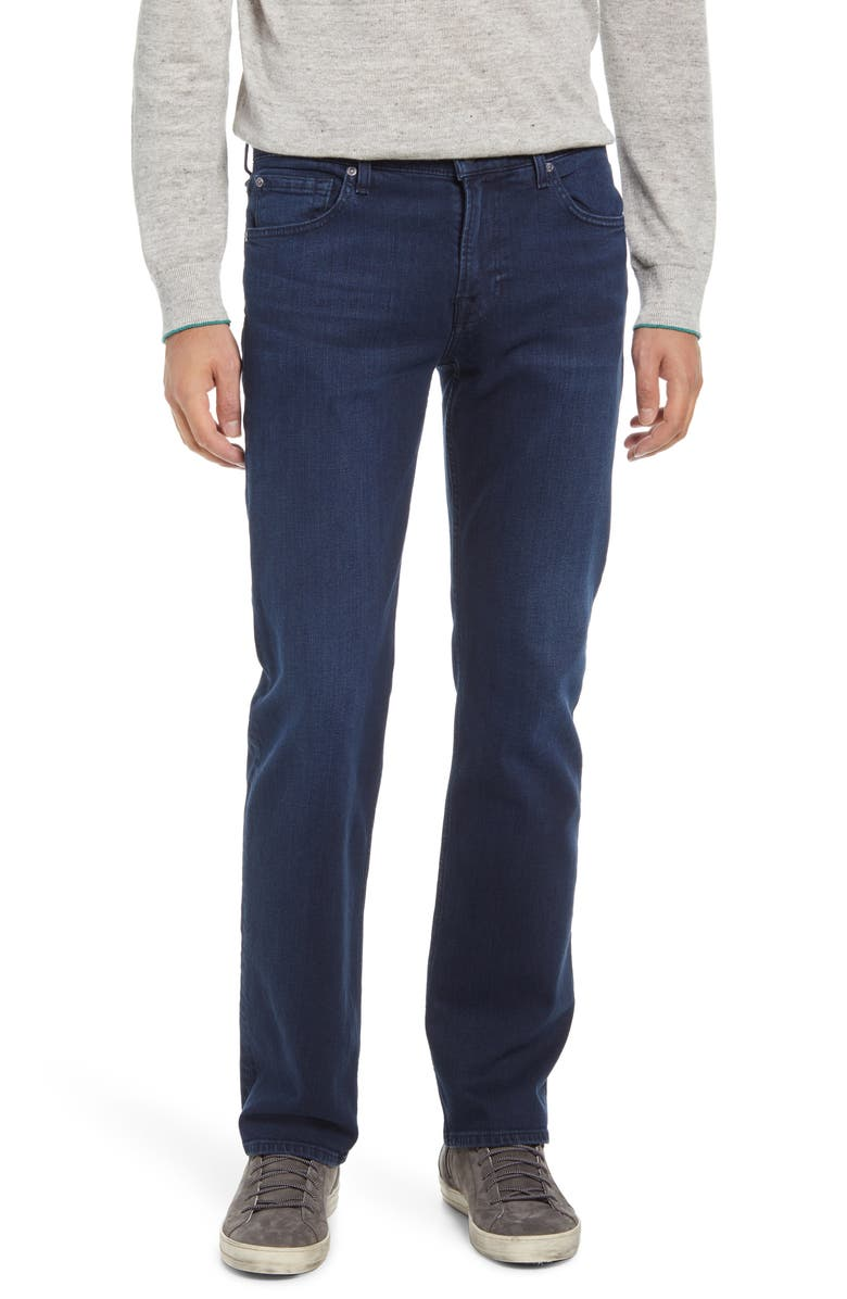 7 FOR ALL MANKIND Men's Austyn Squiggle Relaxed Straight Leg Jeans, Main, color, FORMOSA