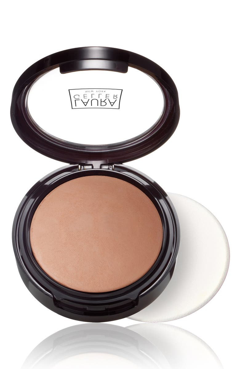 LAURA GELLER BEAUTY Double Take Baked Versatile Powder Foundation, Main, color, DEEP