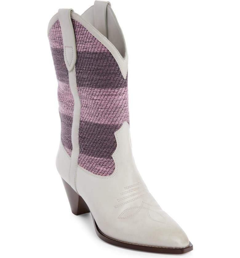 ISABEL MARANT Luliette Western Boot, Main, color, Pink