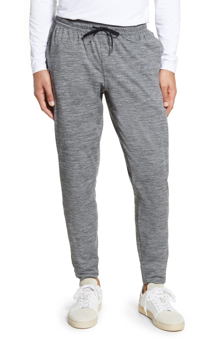 ZELLA Pyrite Slim Fit Pocket Joggers, Main, color, GREY WOLF MELANGE