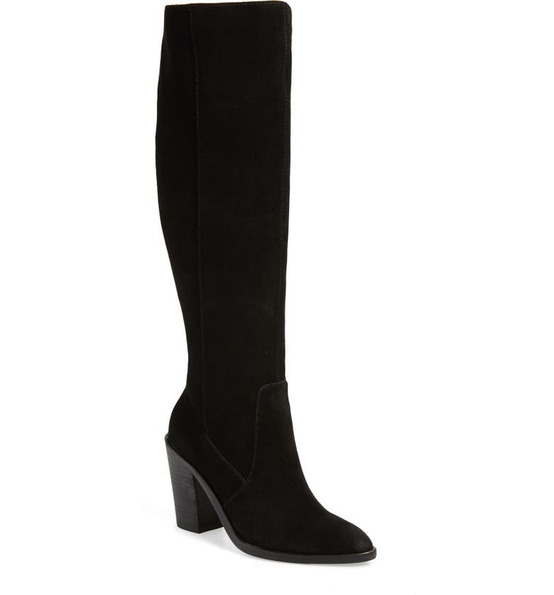 TREASURE & BOND Zoe Knee High Boot, Main, color, 001
