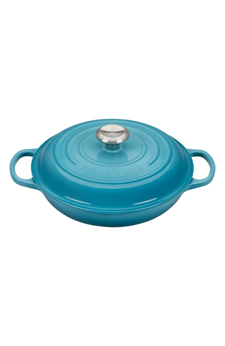 LE CREUSET 2.25-Quart Enameled Cast Iron Braiser, Main, color, 400