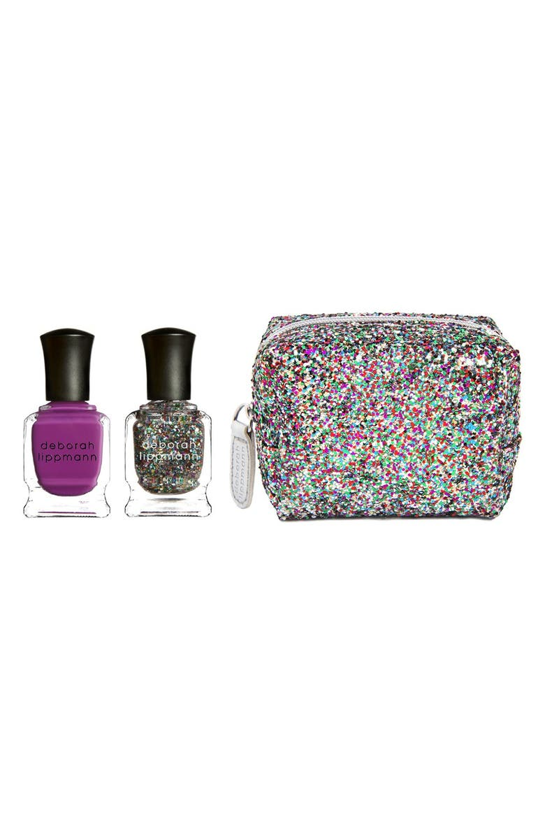 DEBORAH LIPPMANN 'R&B' Mini Nail Lacquer Duet, Main, color, 650