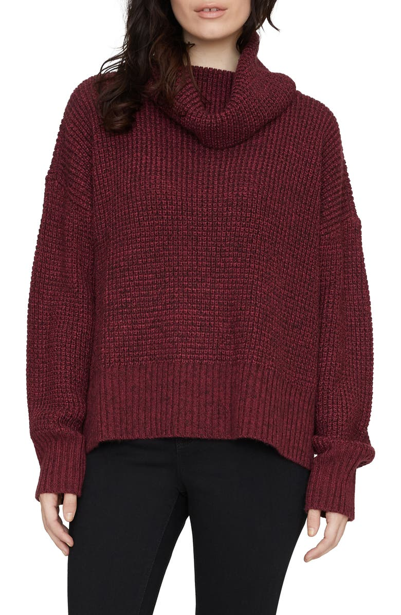 SANCTUARY Warm Your Heart Tunic Sweater, Main, color, 516