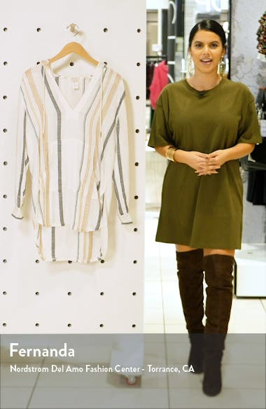 Caswell Cover-Up Hooded Tunic, sales video thumbnail