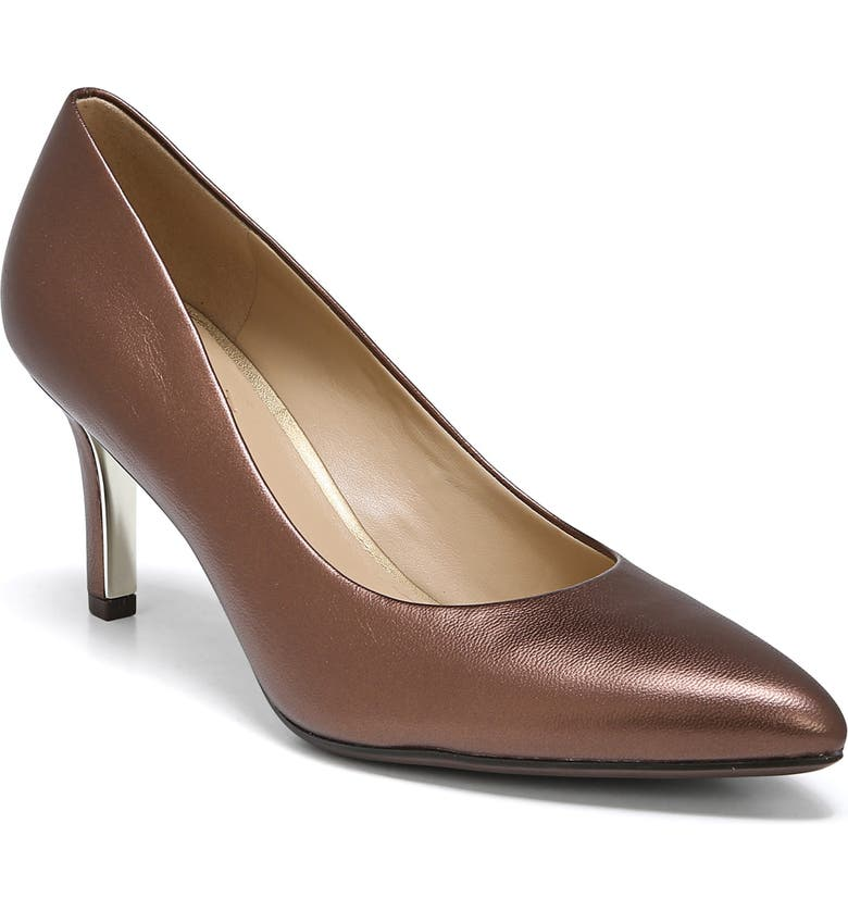 NATURALIZER Natalie Pump, Main, color, COCOA PEARL LEATHER