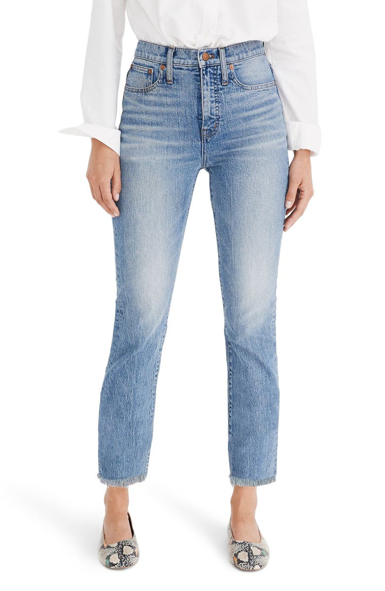 MADEWELL The Perfect Vintage Jean, Main, color, AINSWORTH