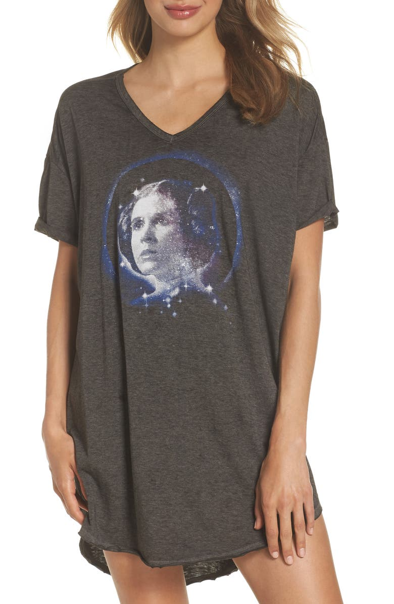 RETROSPECTIVE CO. Star Wars<sup>™</sup> Leia Nightshirt, Main, color, 001