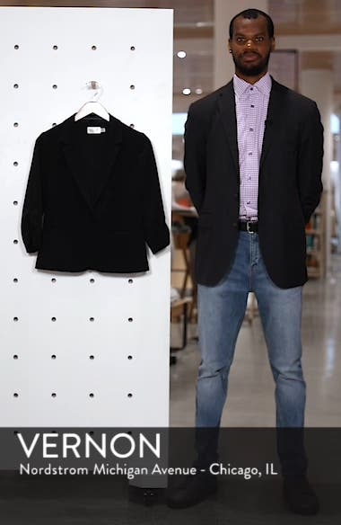 Ruched Sleeve Blazer, sales video thumbnail