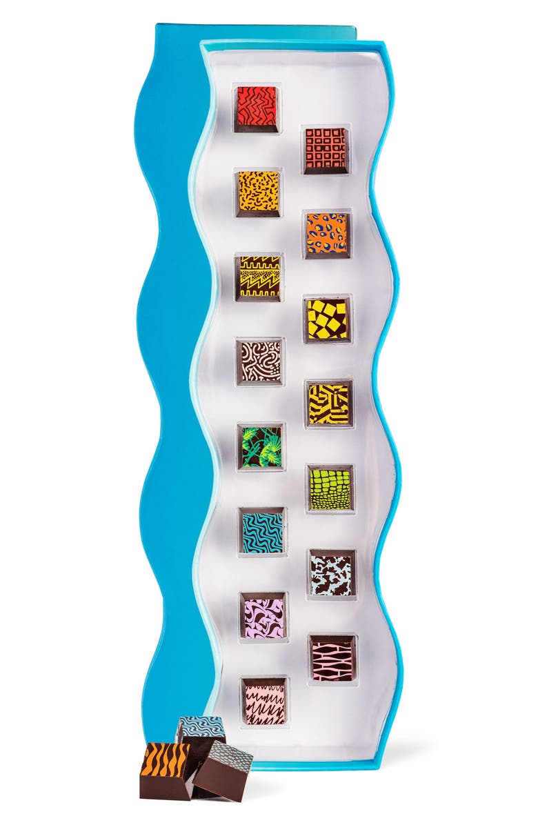 COMPARTES Small Wave 15-Piece Chocolate Box, Main, color, 400