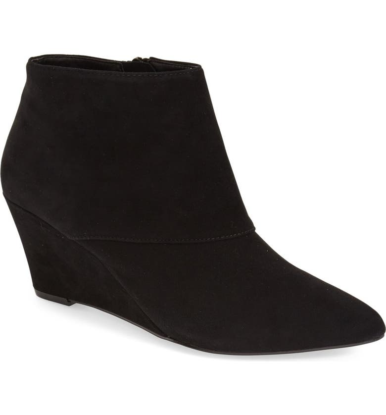 SOLE SOCIETY 'Galaossi' Pointy Toe Wedge Bootie, Main, color, 003