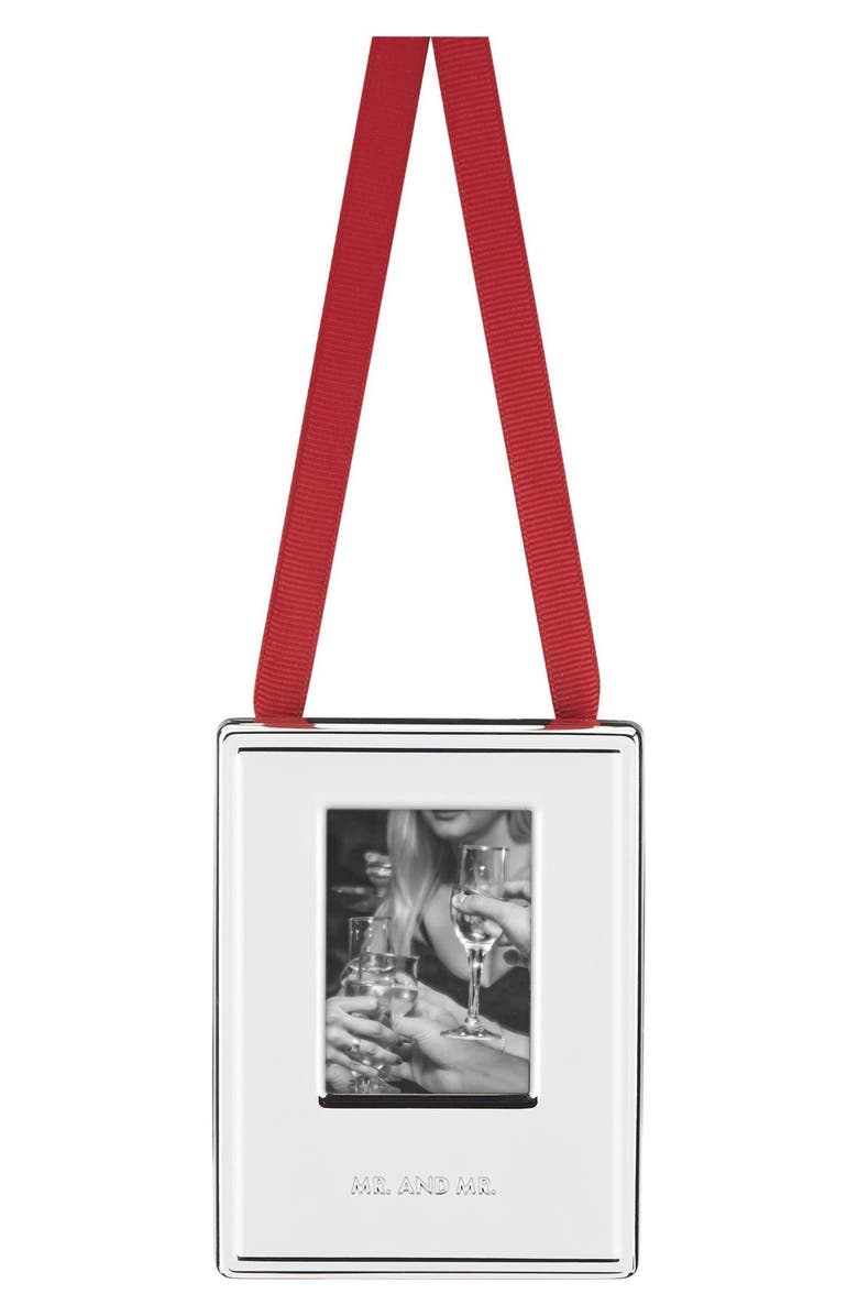 KATE SPADE NEW YORK 'darling point' frame ornament, Main, color, 040