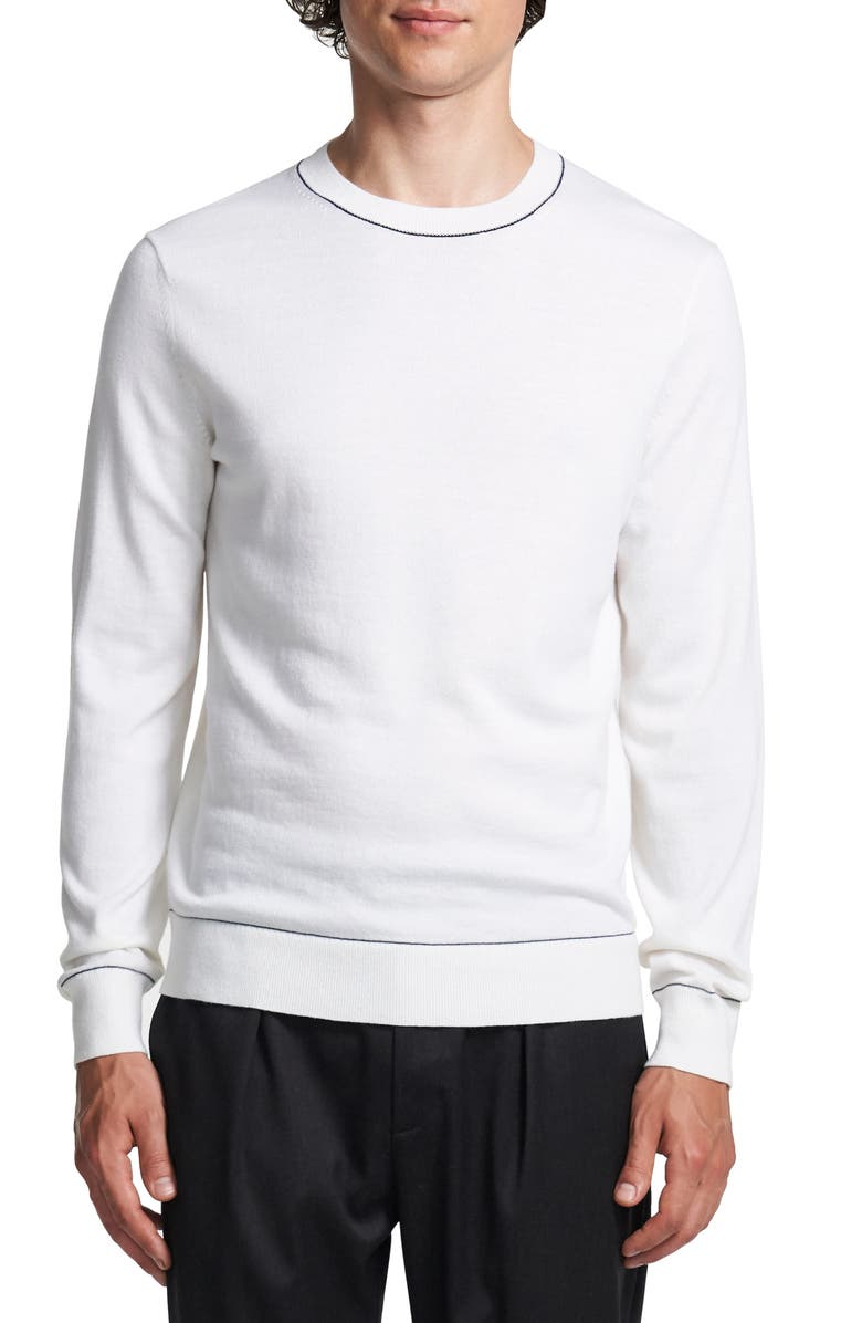 THEORY Lassen Crewneck Sweater, Main, color, 900