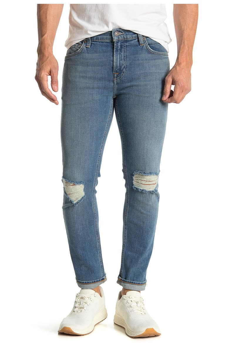 7 FOR ALL MANKIND Paxtyn Skinny Jeans, Main, color, TORTUG DST