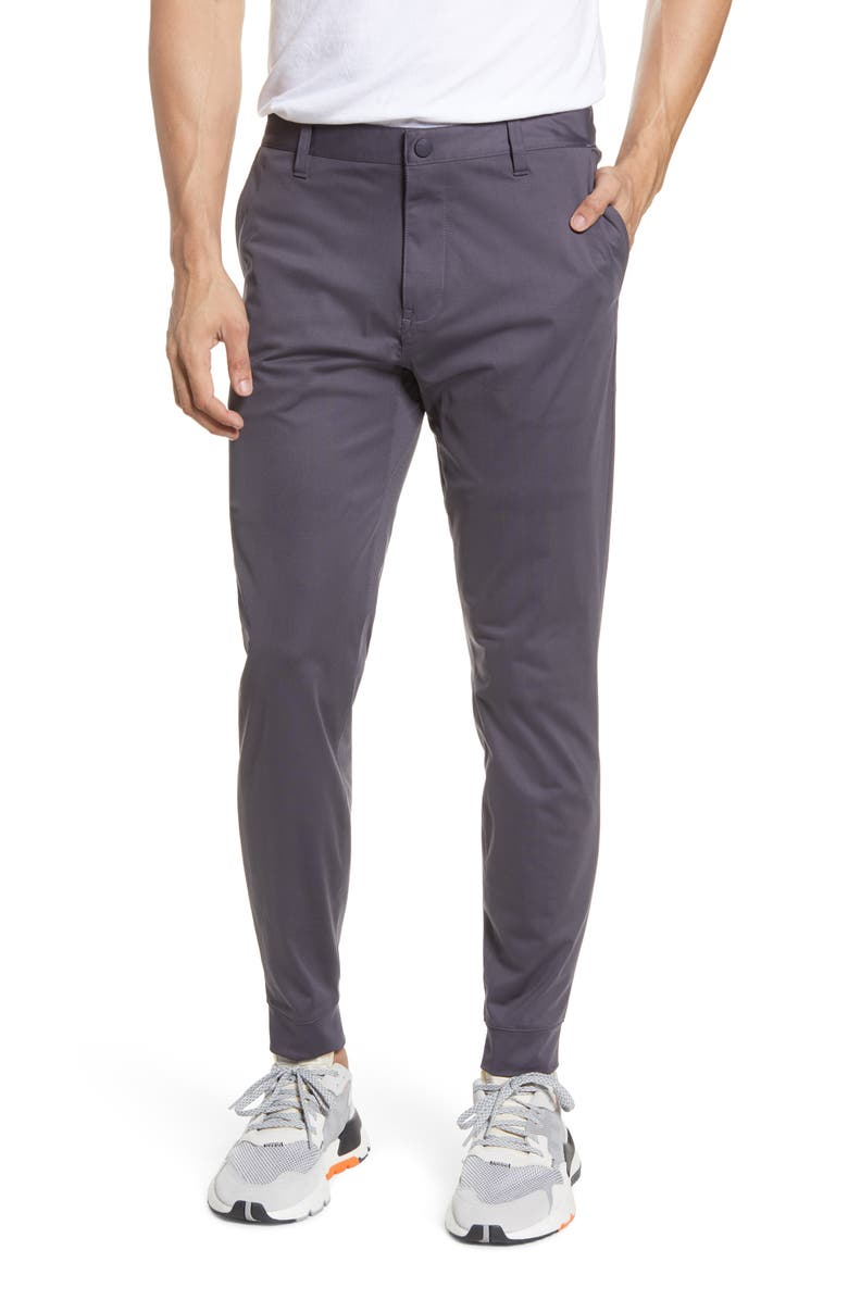 RHONE Commuter Slim Fit Jogger Pants, Main, color, IRON