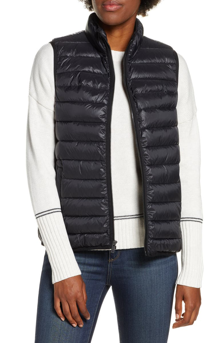 UGG<SUP>®</SUP> Felton Water Resistant Puffer Vest, Main, color, 001