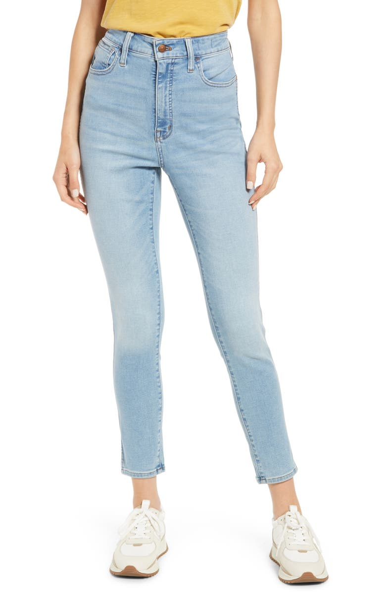 MADEWELL Women's Curvy Roadtripper Authentic High Waist Skinny Jeans, Main, color, CADWELL