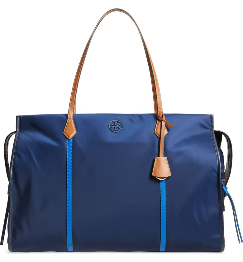 TORY BURCH Perry Oversize Nylon Tote, Main, color, 403
