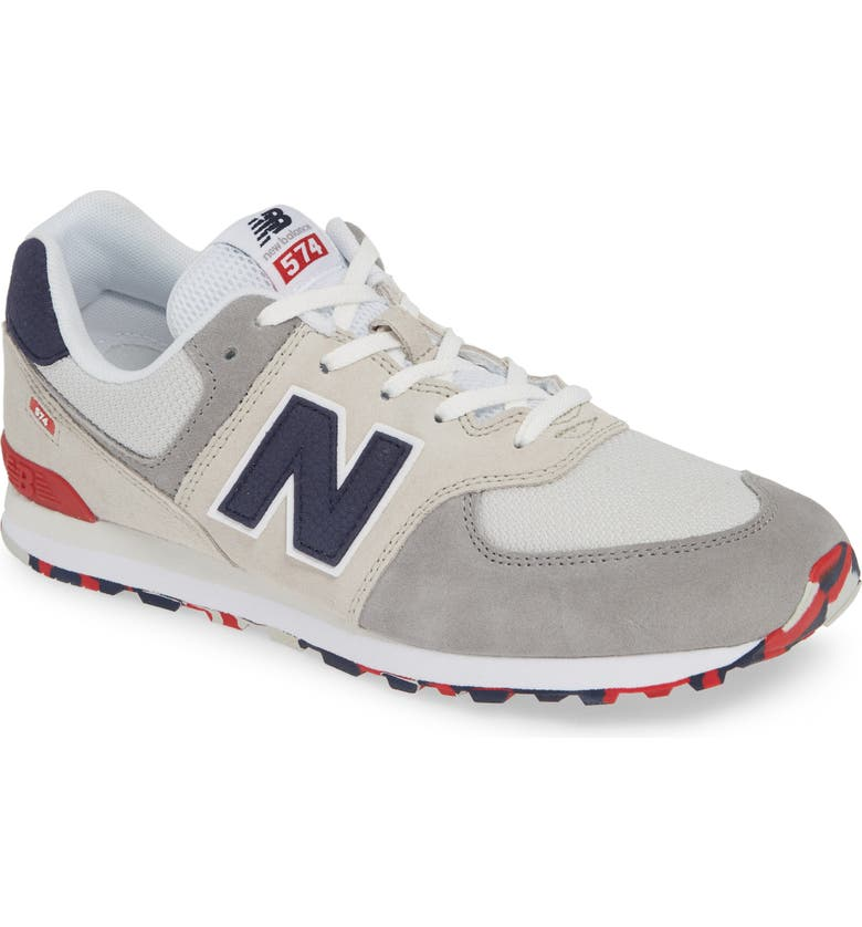 NEW BALANCE 574 Serpent Luxe Sneaker, Main, color, 024