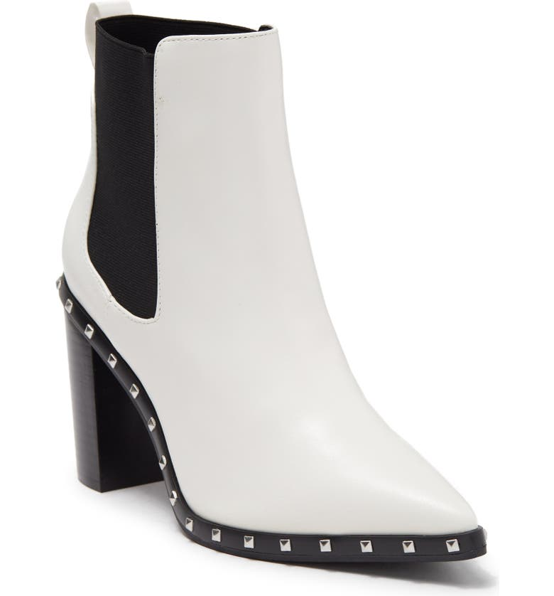 CHARLES BY CHARLES DAVID Dodger Chelsea Boot, Main, color, WHITE BOX SMOOTH