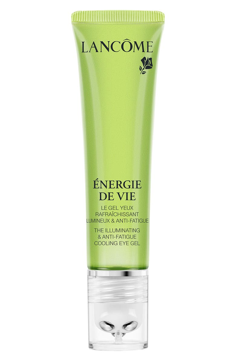 LANCÔME Energie de Vie The Illuminating & Anti-Fatigue Cooling Eye Gel, Main, color, 000