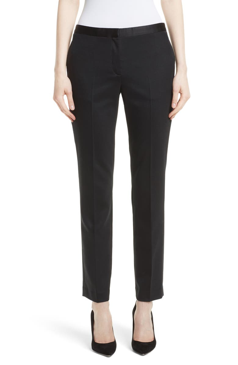 THEORY Tuxedo Suit Pants, Main, color, 001